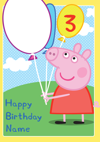 Peppa Pig Birthday Transparent Png Clipart Free Download Ya