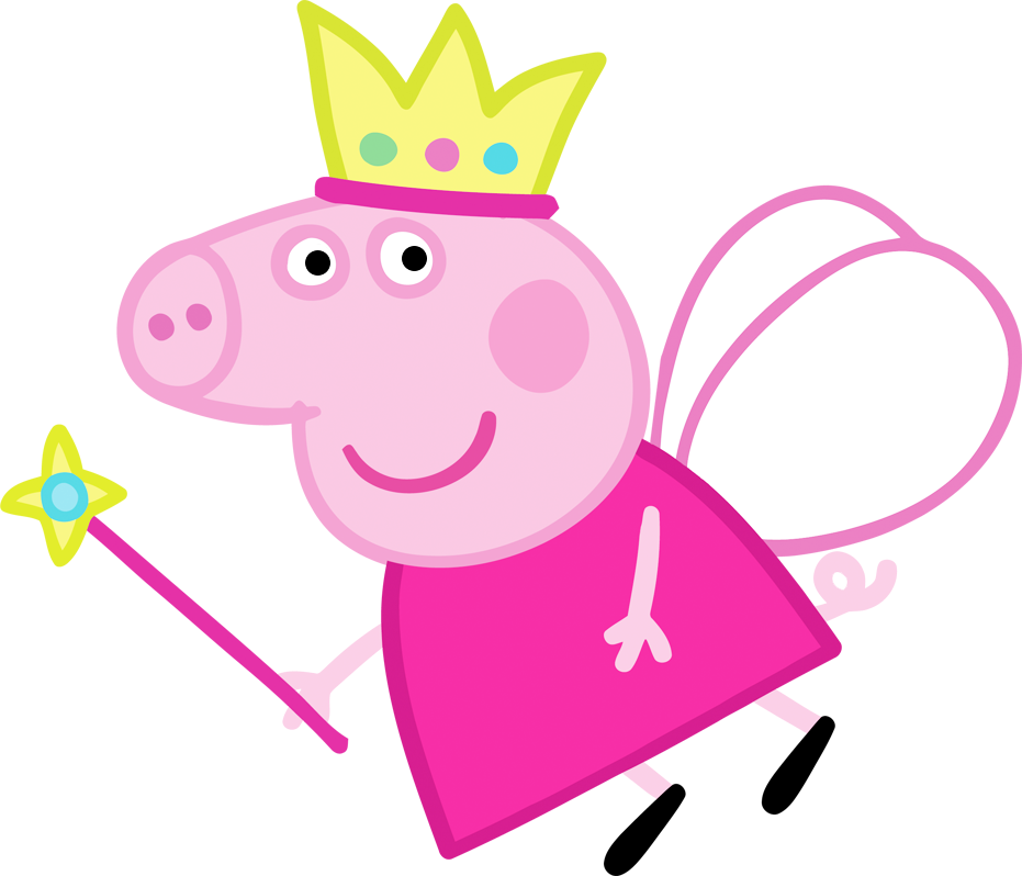 Peppa pig fairy png. Free party printables images