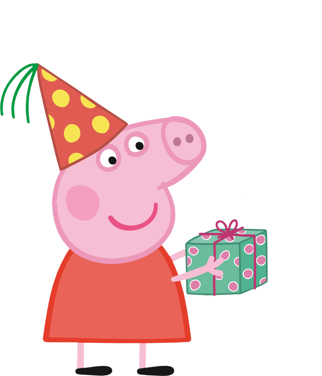 Peppa pig birthday png. Images in collection page