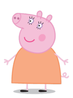 Peppa pig characters png. List of