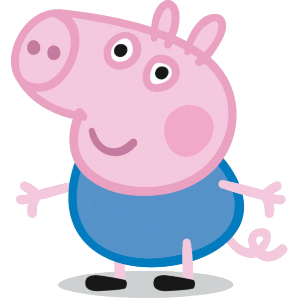 Peppa pig characters png. Cartoon bday party pinterest