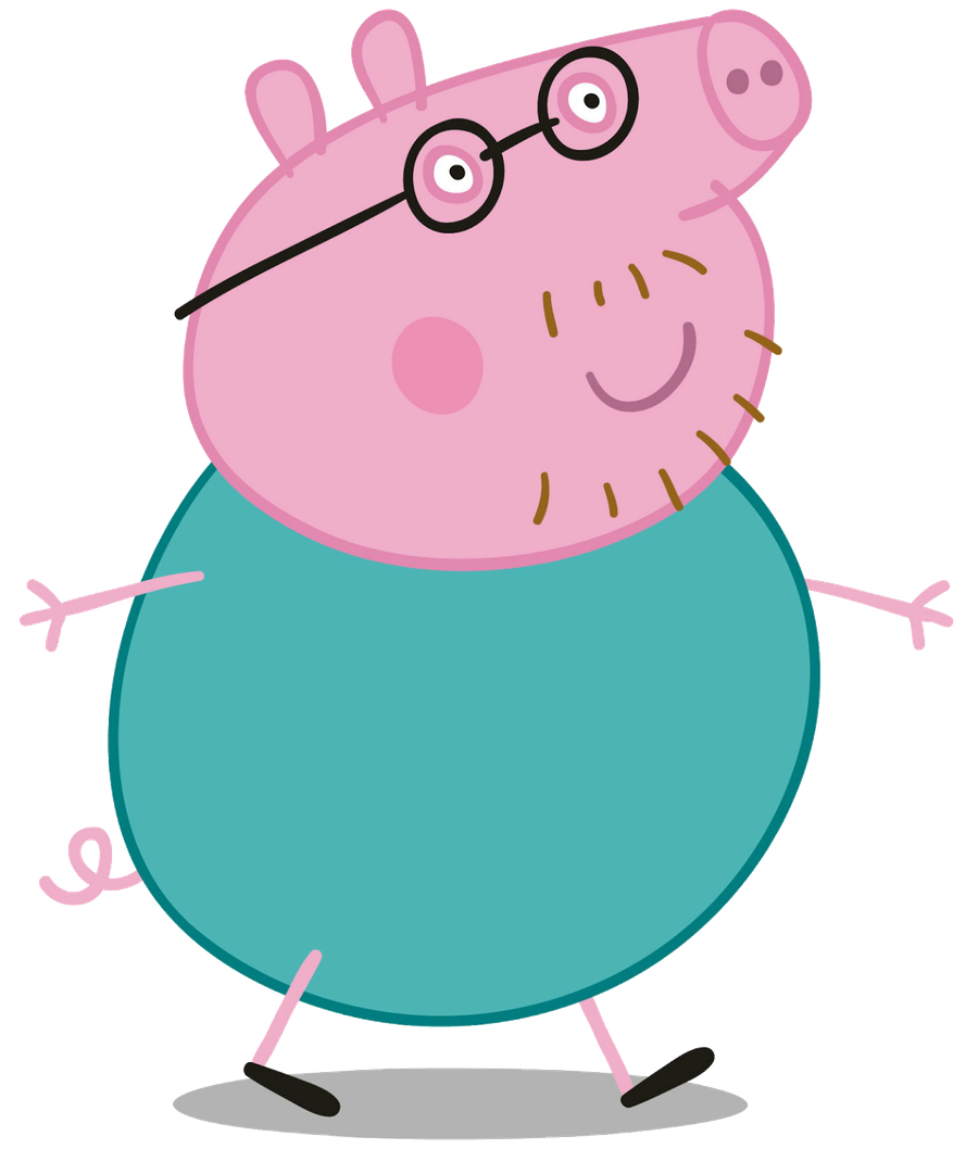 Peppa pig characters png. Minus summer vacation pinterest