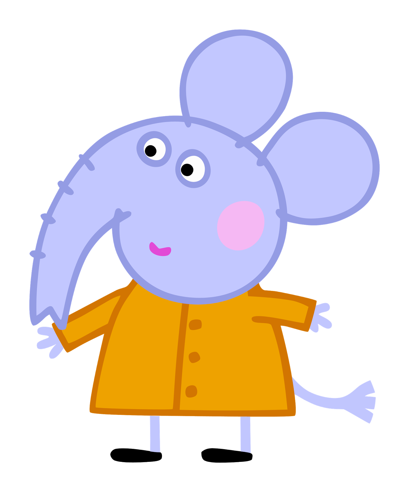 Peppa Pig Characters Transparent Png Clipart Free Download Ya