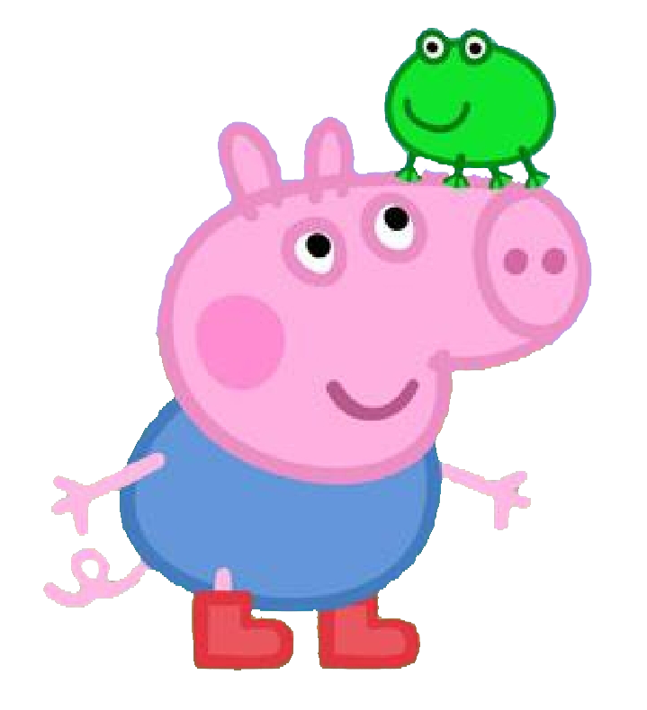 peppa george pig mud png