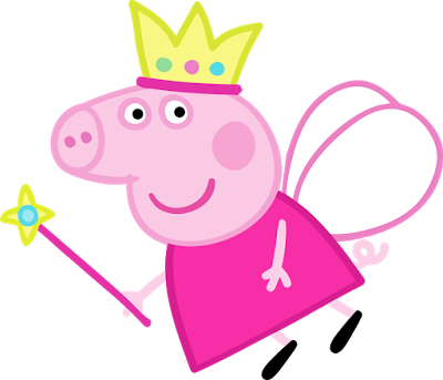 Peppa Pig Fairy Transparent Png Clipart Free Download Ywd