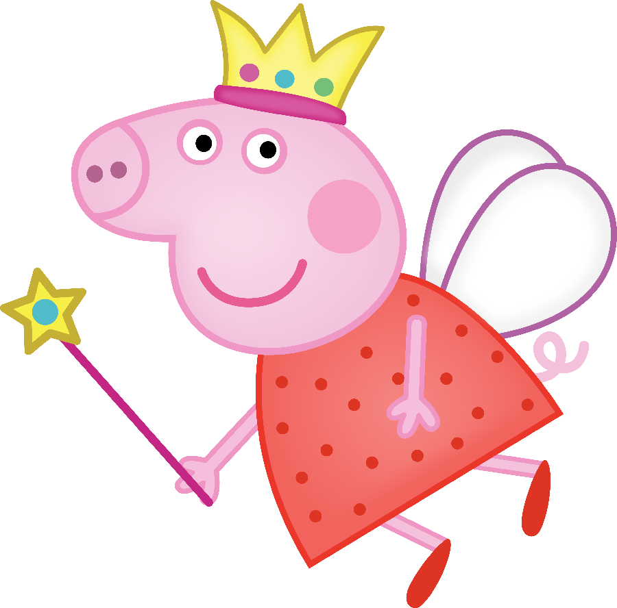 Peppa pig fairy png. Arquivo dos lbuns partytjie