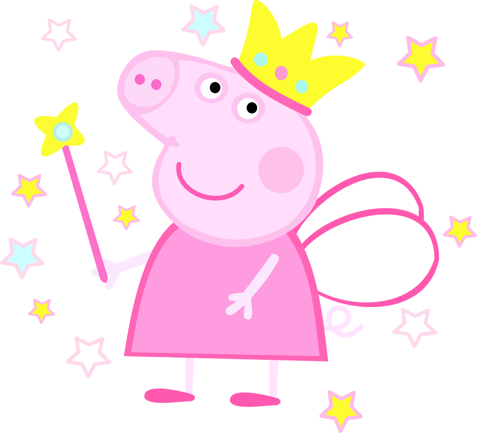 Peppa pig fairy png. Cora s favorite things