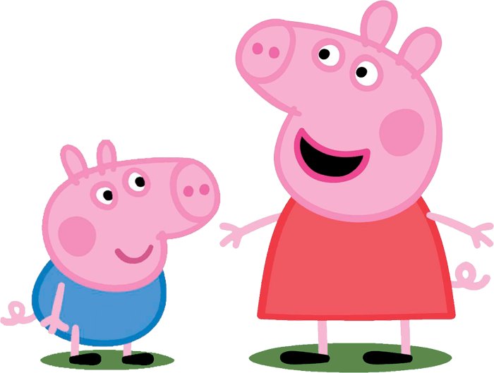 Peppa pig family png. Live in south africa