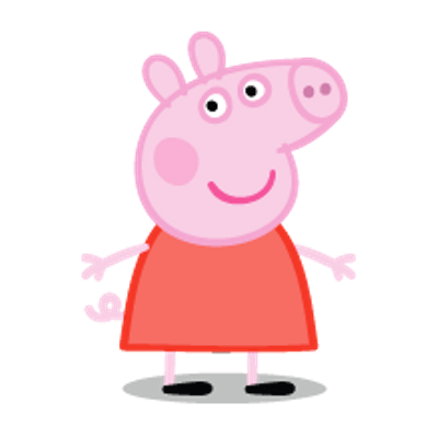 Peppa pig em png. Transparent images stickpng
