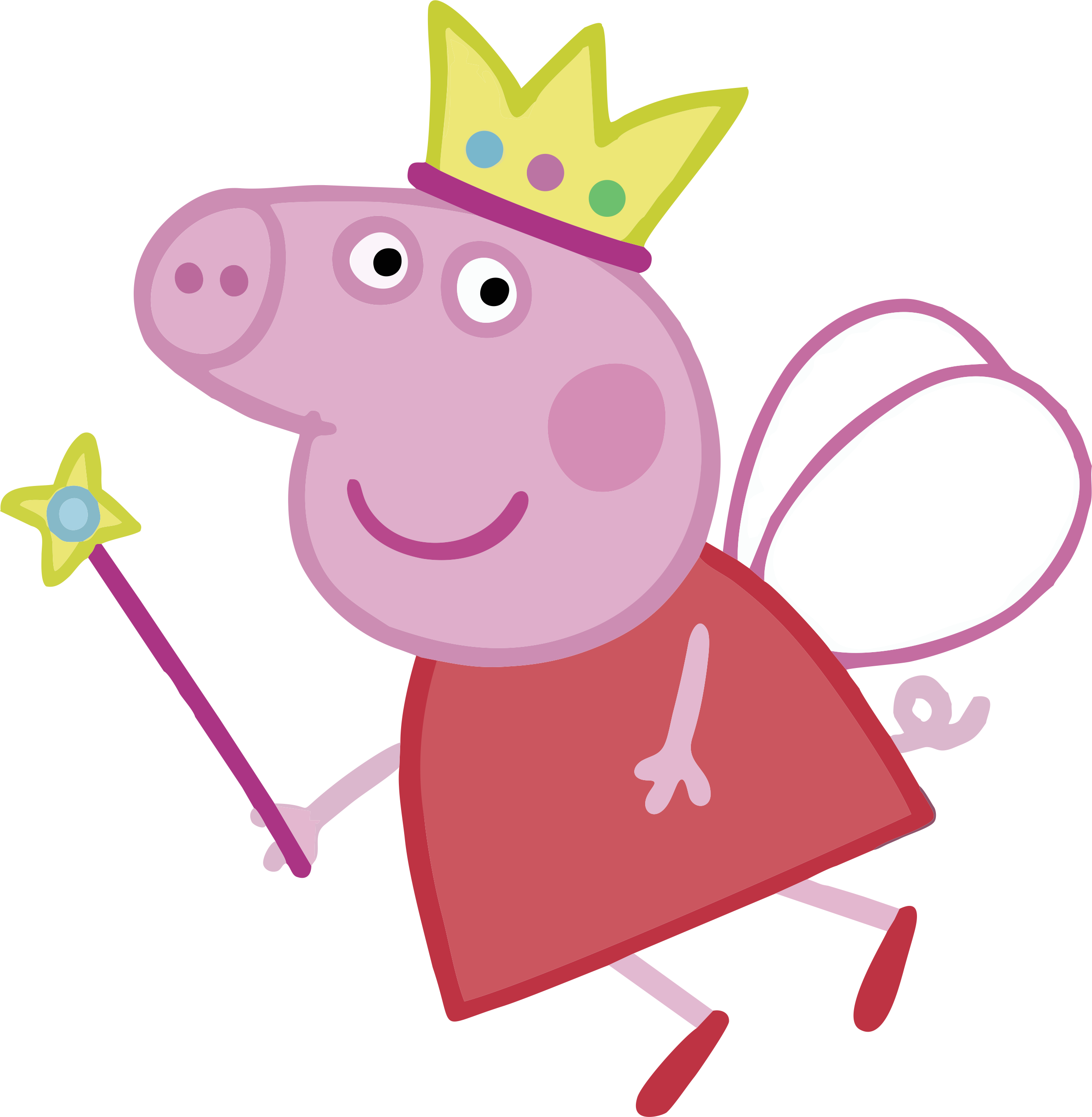 Peppa Pig Princess Transparent Png Clipart Free Download Ywd