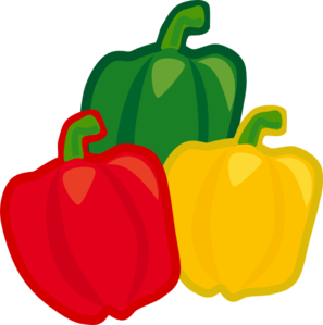 Bell pepper . Peppers clipart svg black and white