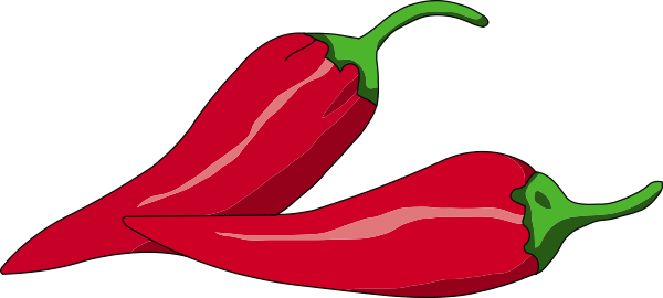 Pepper clipart chili pepper. Clip art borders panda