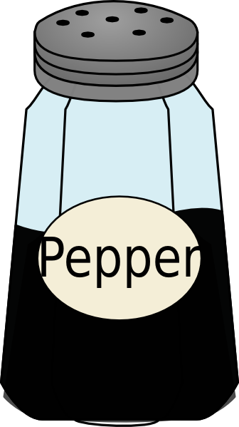 pepper clipart pepper shaker