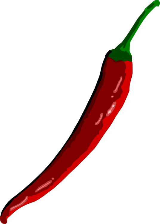 Chili drawing spicy. Con carne pepper bell