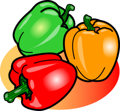 Image food clip art. Peppers clipart vector black and white stock