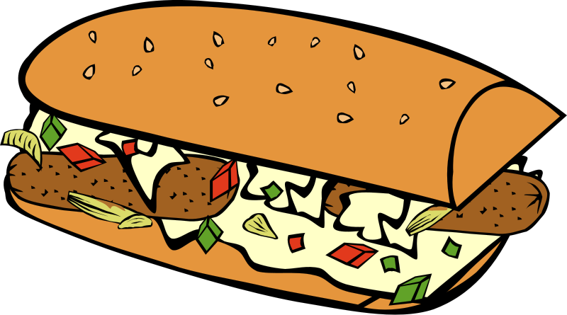 Reminder clipart gentle. Sausage and peppers