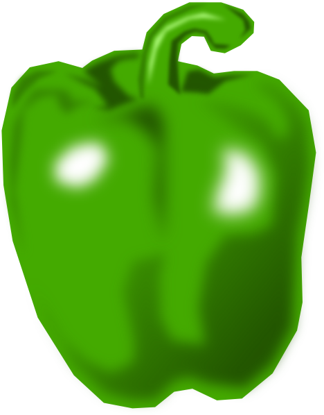 Peppers clipart clip art. Pepper at clker com