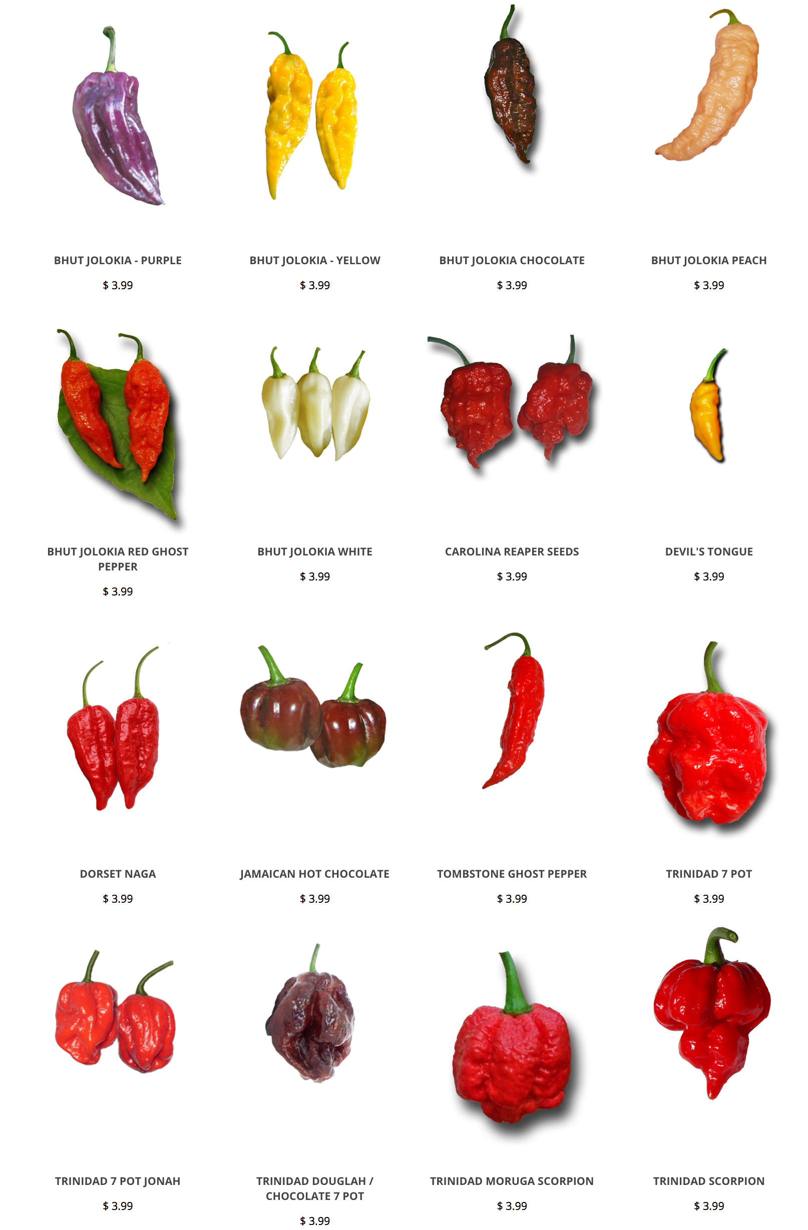 Peppers clipart ghost pepper. Hot seeds https www