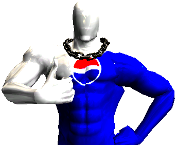 Pepsi transparent man. Image png surreal memes