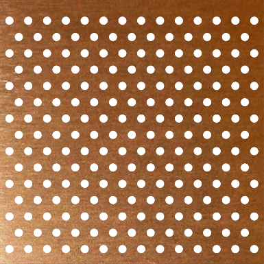 Perforated mesh png. Copper plate accurate perforating