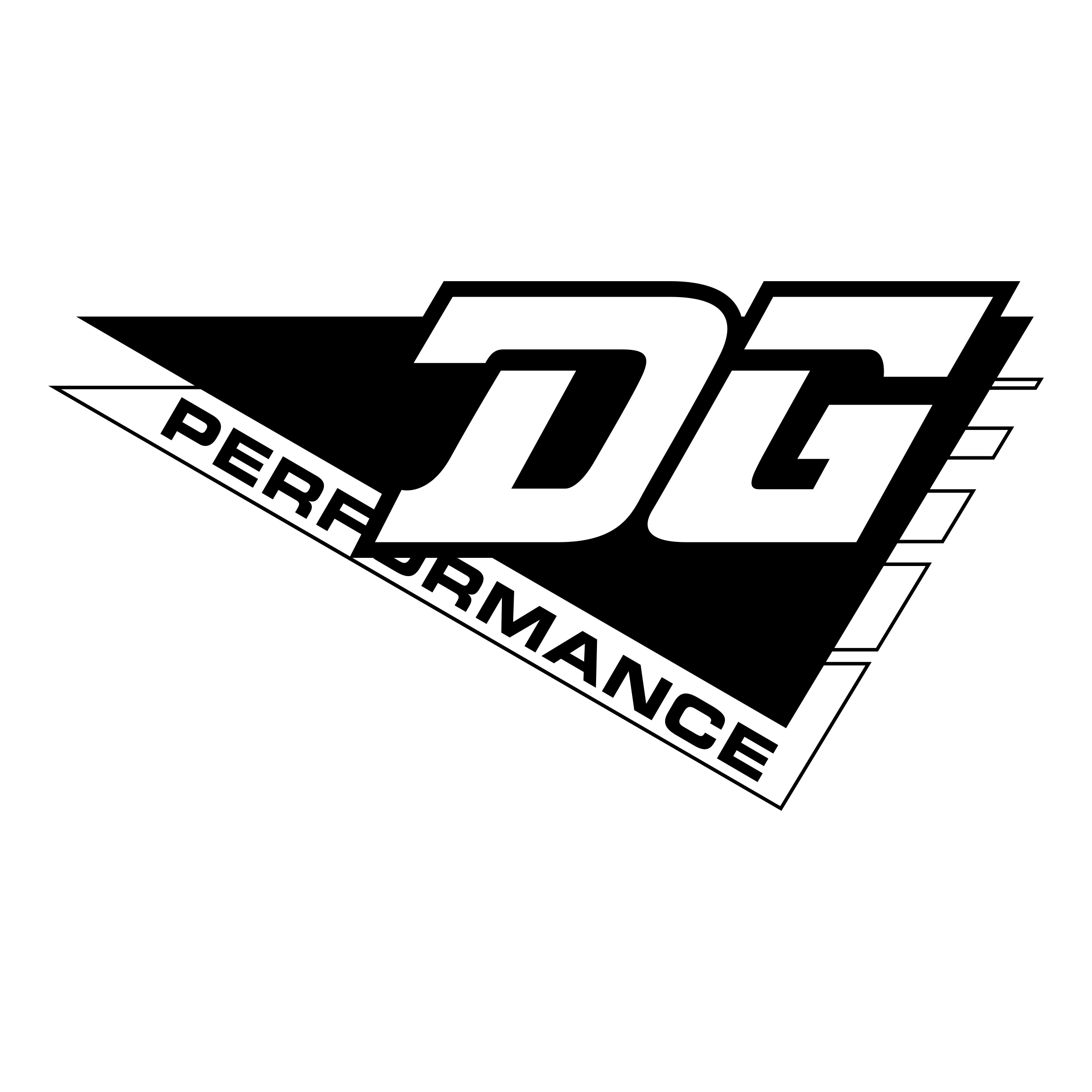 Performance vector. Dg logo png transparent