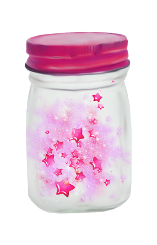 Sprinkles clipart bottle. Bocal d toiles photoshop