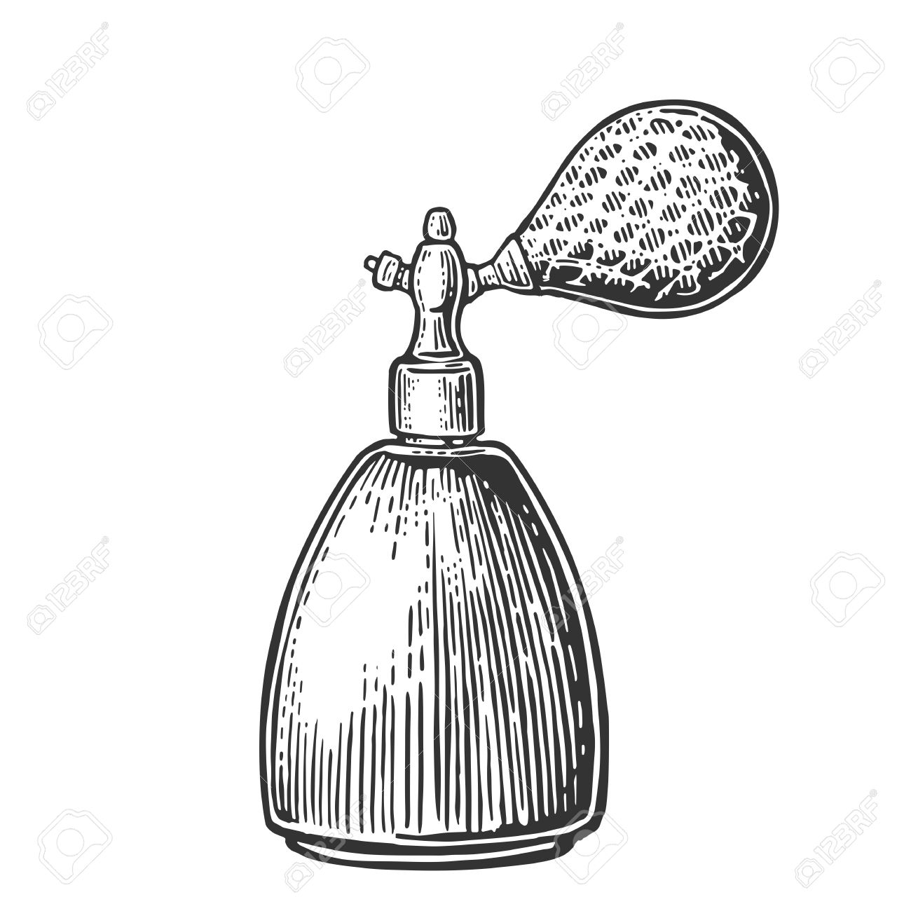 Perfume clipart spray mist. Bottle drawing at getdrawings