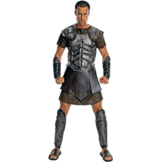 Perseus drawing clash the titans. Adult deluxe costume from