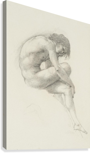 Perseus drawing sketch. Study of for the