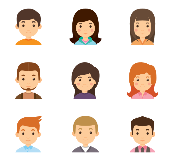 Person cartoon png. Icon packs for