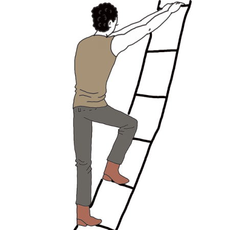 Person climbing ladder png. Dream dictionary interpret now