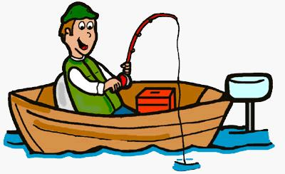 Person clipart boat. Man fishing silhouette at