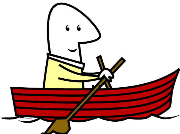 row clipart boating