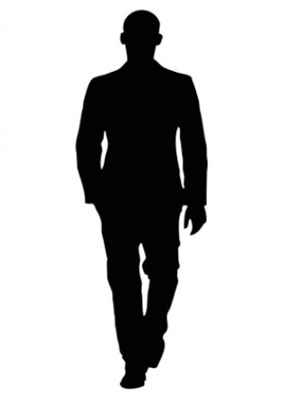 Person clipart shadow.