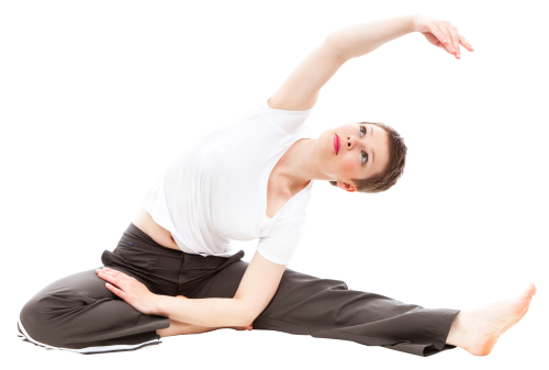 Person doing yoga png. Happy woman image pngpix