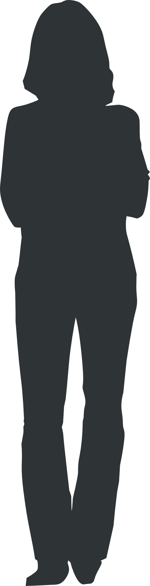 Person outline png. Clipart i royalty free