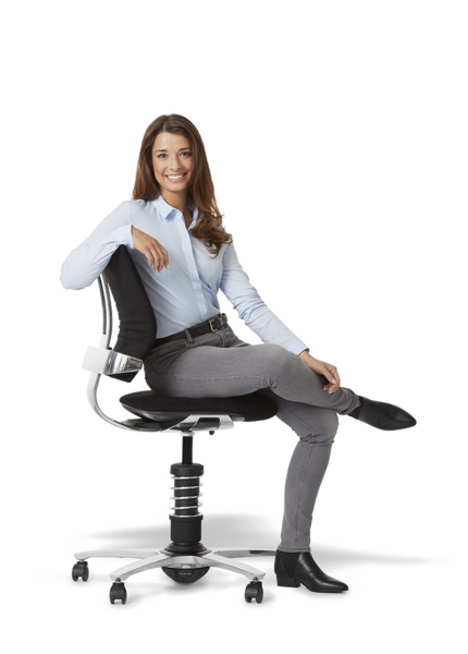 Person sitting in chair back view png. Dee the ergonomic