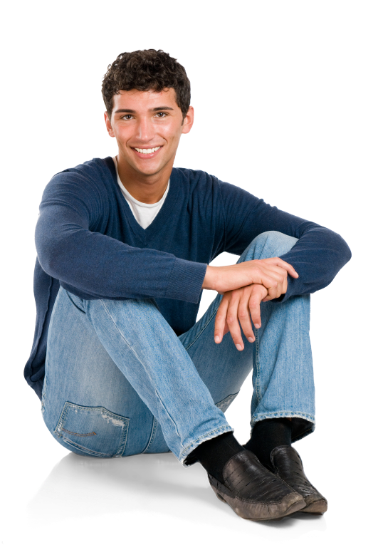 Man sitting on floor png. Download person clip art