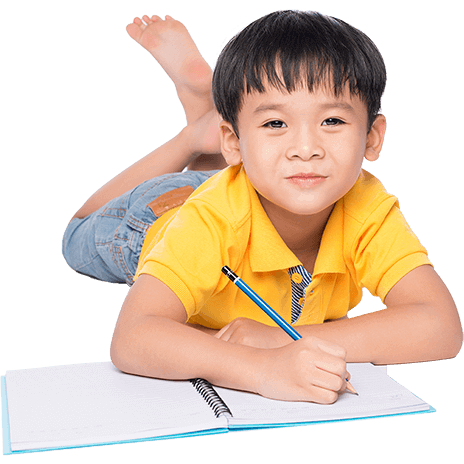 Person sitting on the floor png. Pre school child writing