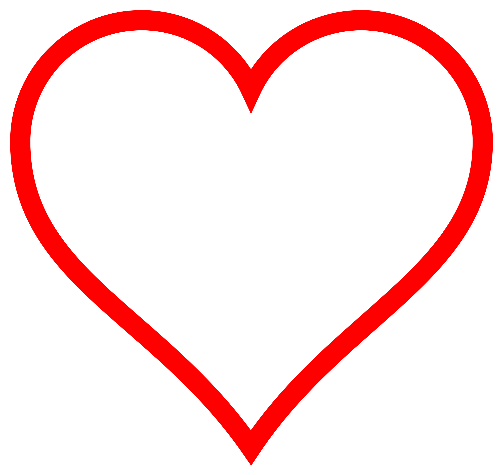 Person svg heart clipart. File icon red hollow