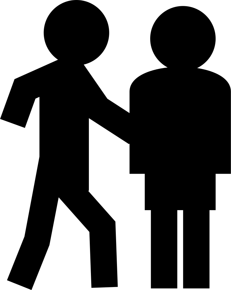 Person svg stickman. Two png icon free