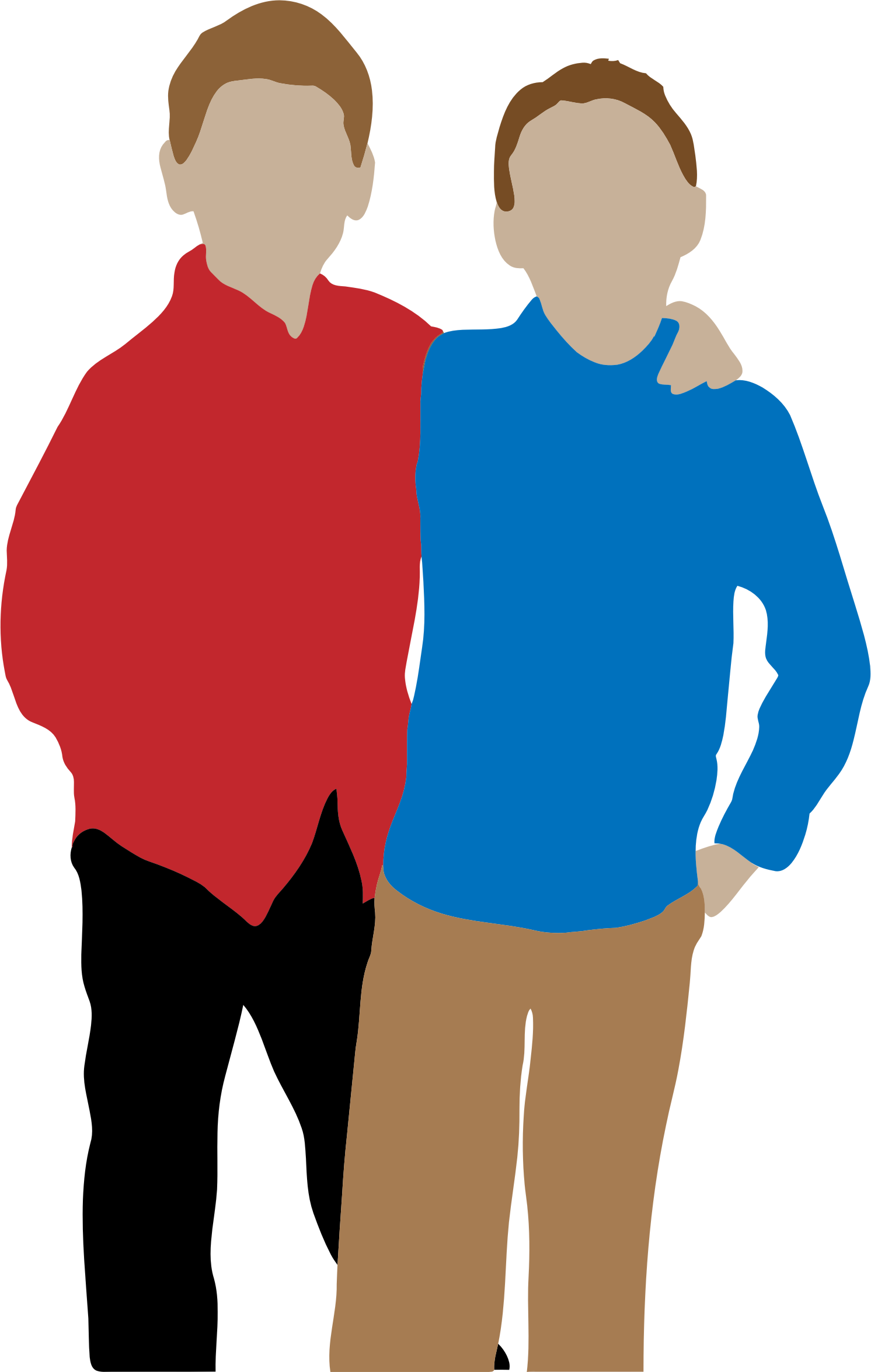 Guy clipart boy talk. People banner free