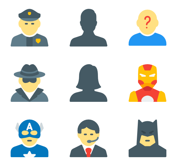 Person svg vector. Pixelated icon packs