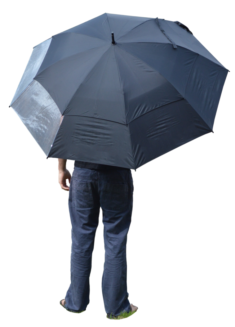 Person with umbrella png. Holding by mindsqueeze on