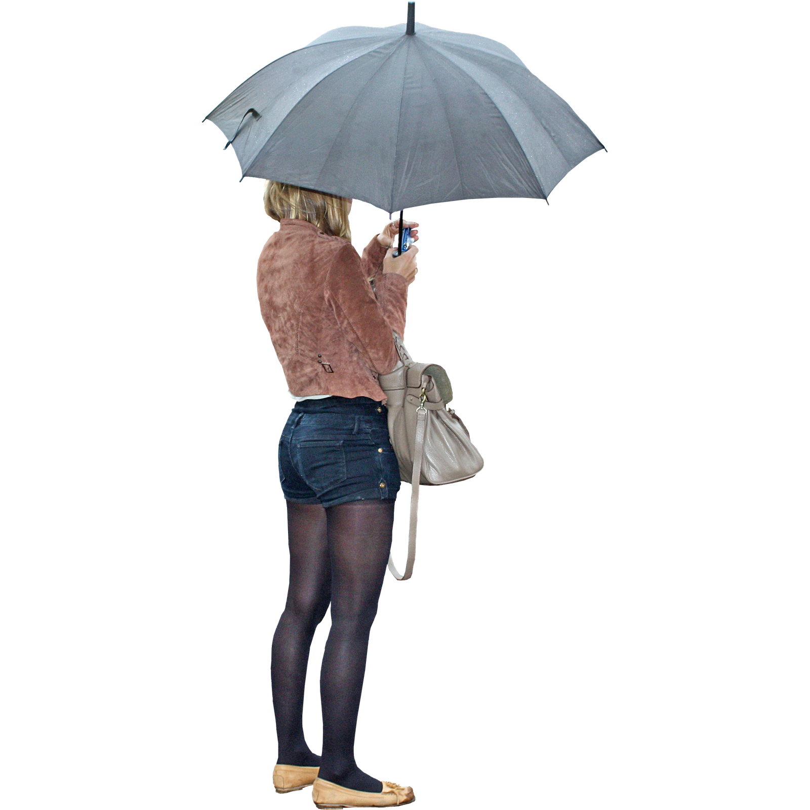 Person with umbrella png. Woman rendering s day