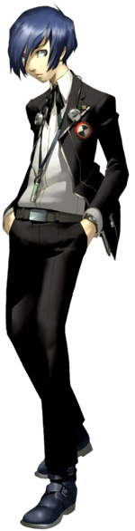 Persona 3 png. Protagonist wikipedia personaprotagonistpng the