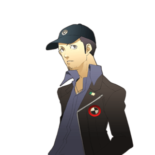 Persona 3 png. Fes the cutting room
