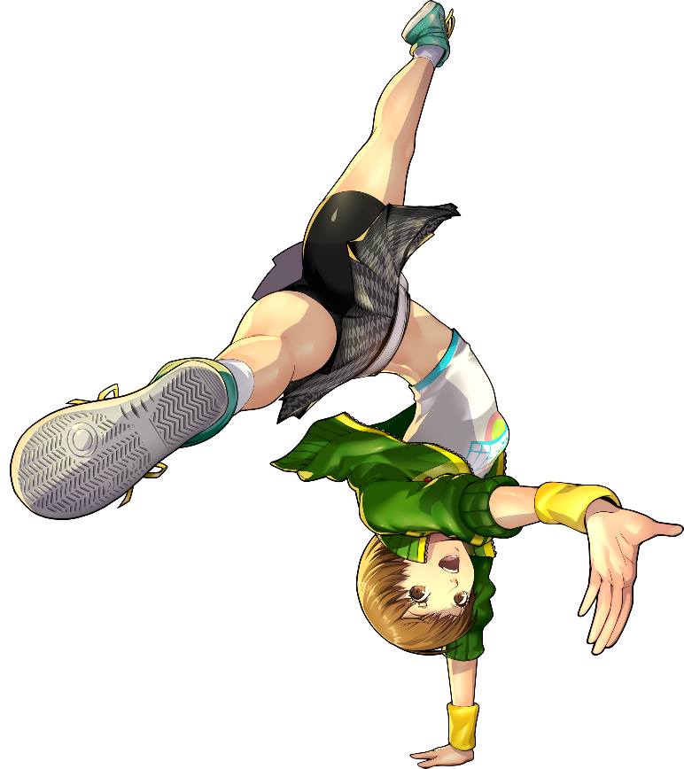 Persona 4 dancing all night png. Image p d chie