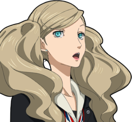 Persona drawing ann. Unused graphics the cutting