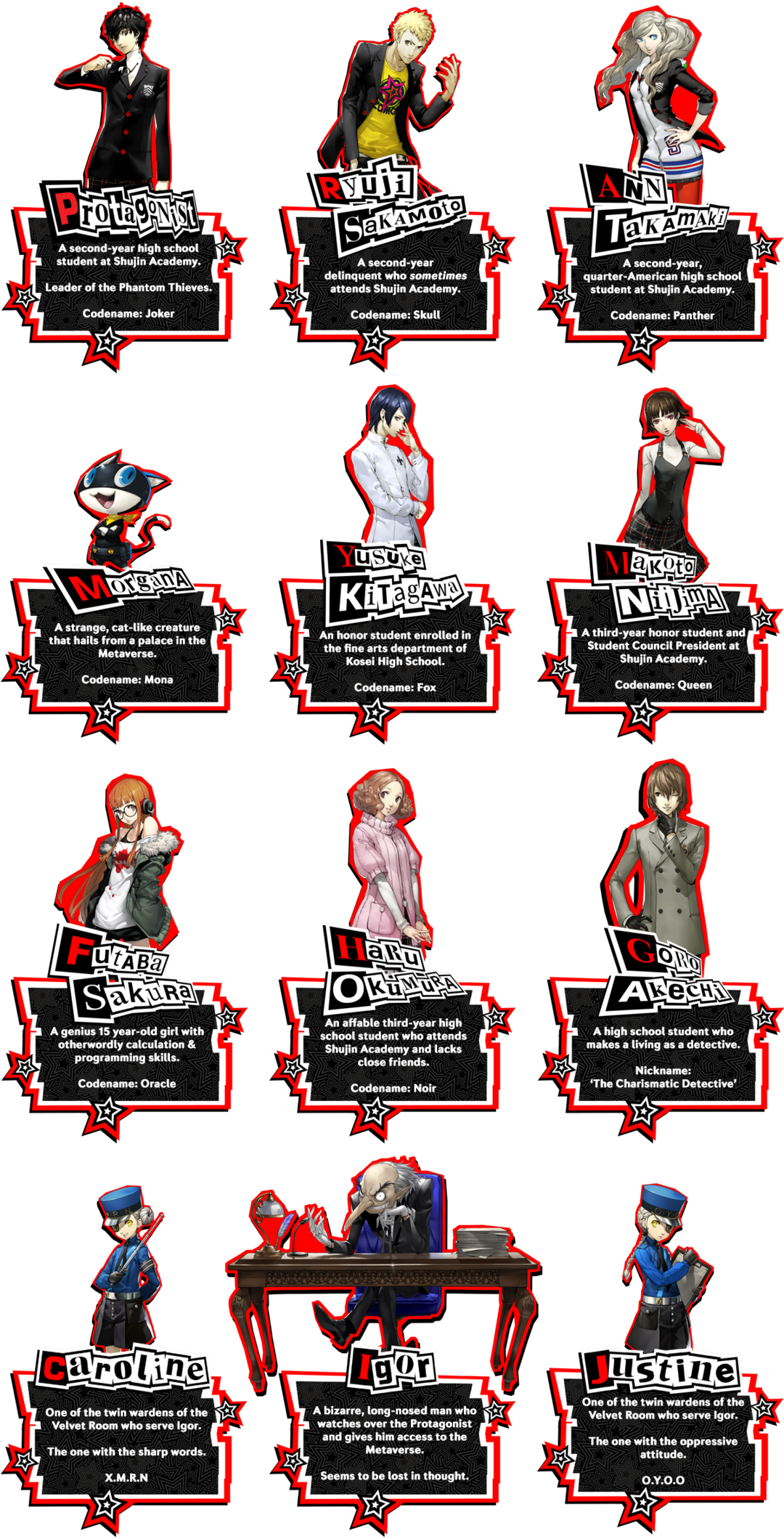 Persona 5 battle menu png. Pv new trailer page